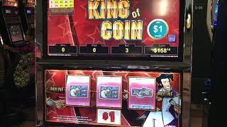 King of Coin VGT at Kickapoo Lucky Eagle Casino