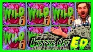 LOTS of BIG WINS! Better Off Ed Slot Machine BONUSES With SDGuy1234