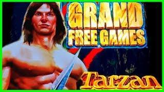 GRAND GAMES on TARZAN • MAX Bet BONUS