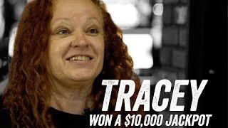 Tracey Wins a $10,000 Jackpot On Her First Visit to San Manuel Casino! [Jackpot Stories - Ep.10]
