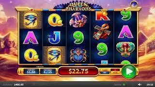 Queen Of The Pharaohs online slots - 39 win!