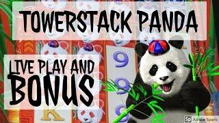 TOWERSTACK PANDA***LIVE PLAY AND BONUS***TI Las Vegas