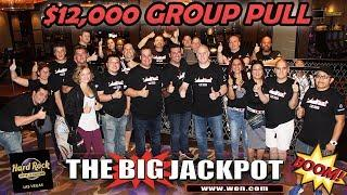 • HUGE $12,000 GROUP PULL at Hard Rock Hotel & Casino in Las Vegas •