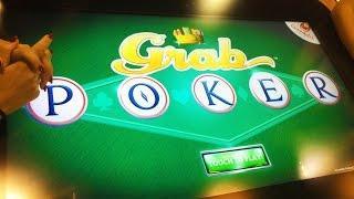 ++NEW Grab Poker slot machine skill game, #G2E2015, Gamblit