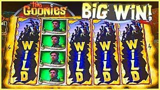GURRRRRL, IT'S A BIG 'GOONIES' SIZE SLOT WIN!! • #BrentSlots