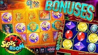 Blazing Phoenix & All That Glitters BONUSES !!! 5c WMS Video Slots in Casino San Manuel