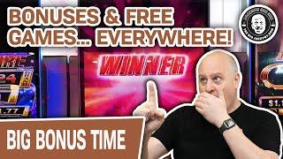 ★ Slots ★ HOW MANY BONUSES Can I Hit with CASINOS OPEN AGAIN? ★ Slots ★ Non-Stop FREE GAMES Too!
