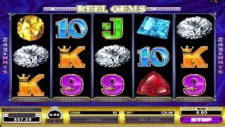 FREE Reel Gems  ™ Slot Machine Game Preview By Slotozilla.com