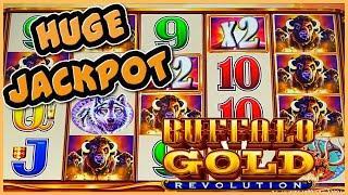 Buffalo Gold Revolution MASSIVE HANDPAY JACKPOT ⋆ Slots ⋆️HIGH LIMIT $22.50 BONUS ROUND Slot Machine