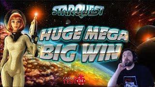 HUGE MEGA BIG WIN ON STAR QUEST SLOT (BTG) - 2€ BET!