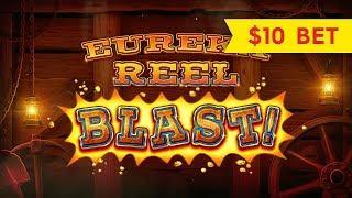 Lock It Link Eureka Reel Blast Slot - NICE SESSION, ALL FEATURES!