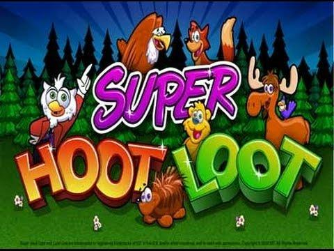 SUPER HOOT LOOT SLOT MACHINE- LIVE PLAY