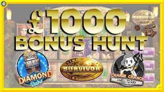 Bonus Hunt: Survivor, Street Fighter 2, Charlie Chance & MORE