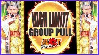 $50 BETS!! • HIGH LIMIT DRAGON LINK SLOT MACHINE GROUP PULL • LAS VEGAS | Slot Traveler