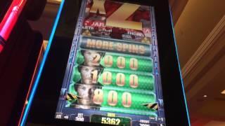 Walking Dead Slot - Max Bet Bonus - Big Win!! Multiple Walker Bonuses