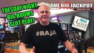 •Tuesday Night Big Booms Slot Play Live•