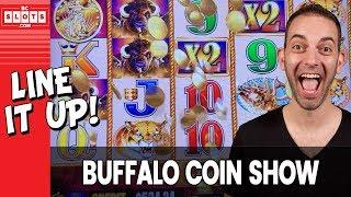 • Buffalo COIN SHOW - Line It UP • $1000 @ GSR Reno • BCSlots (S. 8 • Ep. 5) #AD