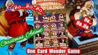 Its..•.Christmas Advent.•Scratchcard Game.....•...One Card Wonder...•.its coming now....•