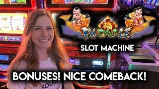 Has My Fortune Arrived? Fu Dao Le Slot Machine! 3 Reel version! BONUSES!!