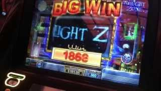 Twilight Slot Machine Bonus - Bubble Girl - Big Win!