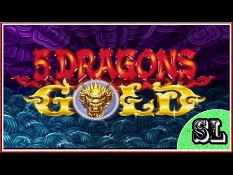 ** 5 Dragons Gold ** Bonus ** SLOT LOVER **
