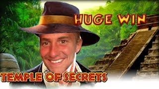 BIG WIN!!!! Temple of Secrets big win - Casino - Bonus round (Casino Slots) From Live Stream
