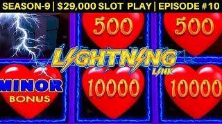 Lighting Link Slot Machine Max Bet Bonus & Up To $25 Bet Live Play | Season 9 | Episode #10