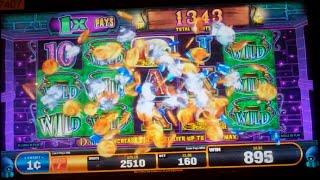 Roll the Bones Slot Machine Bonus - BIG BET - Free Spins, Nice Win (#2)
