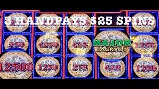 (3) HANDPAYS & MAJOR JACKPOT ~ LIGHTNING LINK BENGAL TREASURES & WILD CHUCO ~ ALL MAX BET SPINS