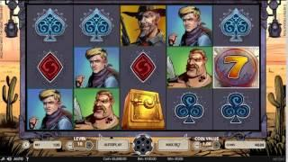 Wild Wild West Slot Features & Game Play - by NetEnt