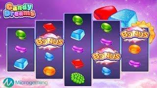 Candy Dreams Online Slot from Microgaming