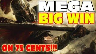 MEGA BIG WIN ON 75 CENTS!!!  •  ROMAN WARRIOR BY ARISTOCRAT
