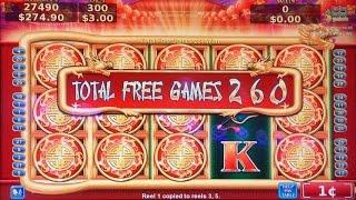 $$$ FLYING FORTUNE MAX BET 260 FREE SPINS HUGE WIN$$$$$