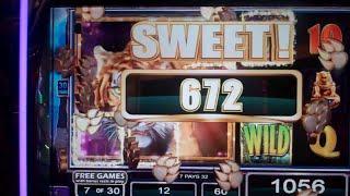 Temple of the Tiger Slot Machine Bonus - 30 Free Spins Win (#1)