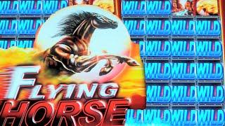 Flying Horse WILD CITY - NEW SLOT MACHINE Bonus + Live Play + Bonus!