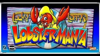 Lucky Larry's Lobstermania by IGT bonuses 3 and 4 picks £2, £3 and £5 bets.