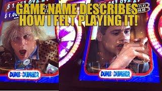 DUMB AND DUMBER SLOT MACHINE BONUS-LIVE PLAY