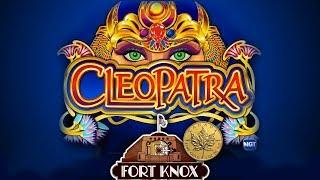 CLEOPATRA FORT KNOX EDITION - Slot Machine Bonus