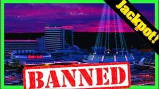 I GOT BANNED AGAIN! I WON A JACKPOT And They KICKED ME OUT! Casino Drama W/ SDGuy1234