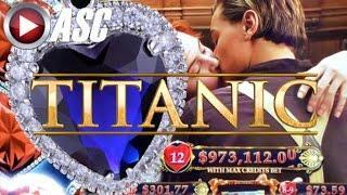 •️HEARTY BIG WINS!•️ TITANIC II (HEART OF THE OCEAN) & LOCK IT LINK | Slot Machine Bonus (SG)