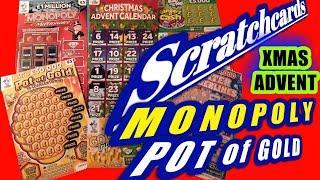 Scratchcards...Pot of Gold..Christmas Advent.Monopoly..Winter Wonderlines..Gold Tripler