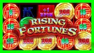 NEW RISING FORTUNES SLOTS GOT ME DANCING! JUST NEED THE DRUMS • 88 FORTUNES 2 • LIVE CASINO PLAY