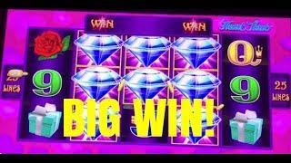 BIG WIN! LIGHTNING LINK HEART THROB SLOT MACHINE