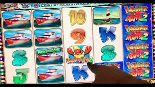 Lucky Larry's LOBSTERMANIA 2 •Live Play• Slot Machine in Las Vegas