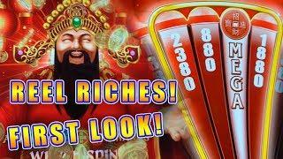 REEL RICHES FORTUNE'S AGE DELUXE • FIRST LOOK & LIVE PLAY • NEW SLOT MACHINE