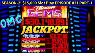 High Limit BLAZIN JACKPOT Slot HANDPAY JACKPOT | High Limit Lighting Link Slot Machine | EPISODE #31