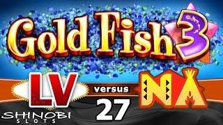 Las Vegas vs Native American Casinos Episode 27: Goldfish 3 Slot Machine