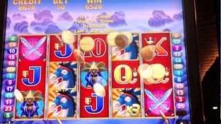 Kickin' Ass Slot Free Spin Bonus Game ($0.50 Bet)