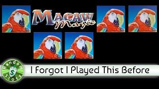 Macaw Magic slot machine, Forgot I Had Played This One Before