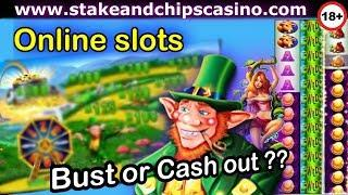 Online Slots Session - Bust or Cash out win ? - STARSPINS CASINO